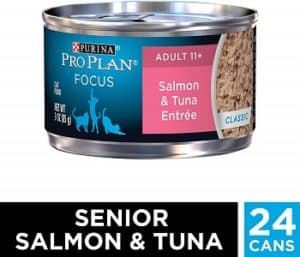 Purina Pro Plan Senior with Canned Salmon and Tuna