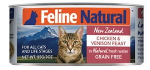 Feline-natural-chicken-Grain free